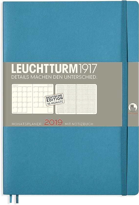 16 mesi Agenda mensile con taccuino 2020 Softcover Composition tedesco bacche B5