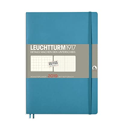 Leuchtturm1917 357783 Mes Agenda con cuaderno 2019 Soft ...