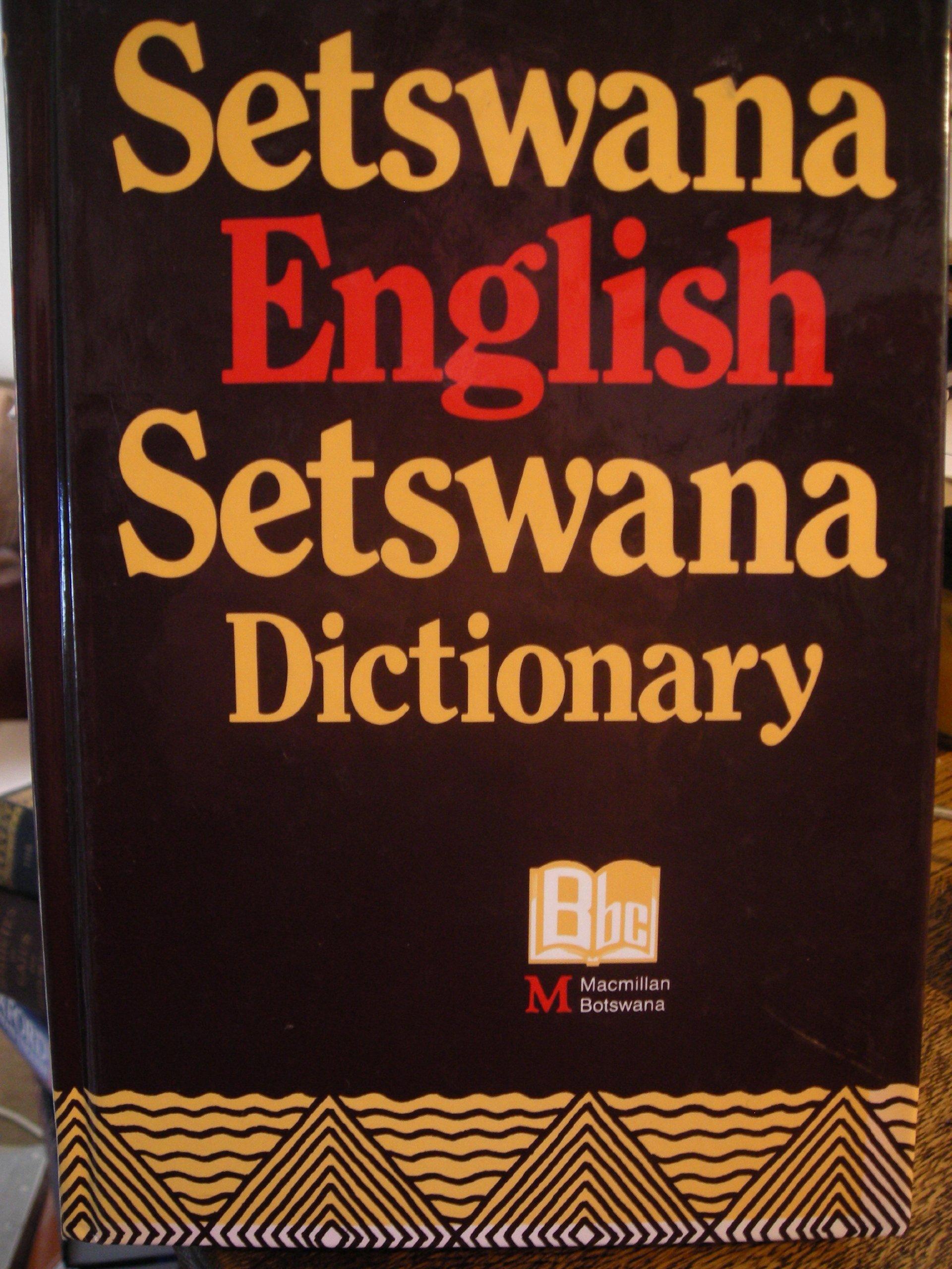 SETSWANA DICTIONARY EPUB DOWNLOAD