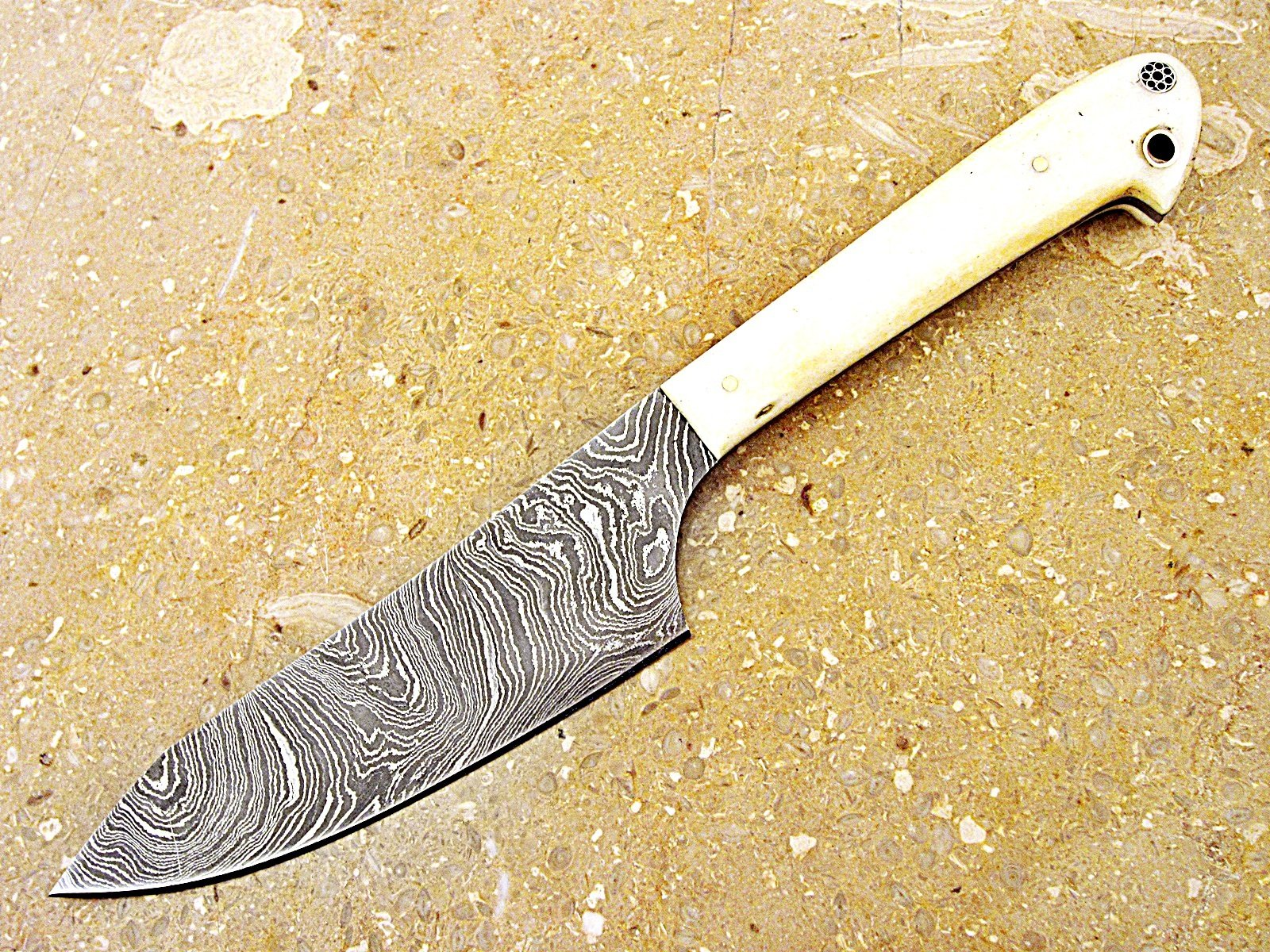 Christmas Gift Offer By ColdLand | Custom Handmade Damascus Steel Splendid Kitchen Set Knives Lot of 5 KSLOT2 by ColdLand Knives (Image #3)