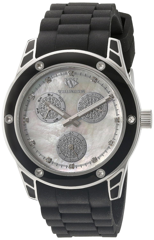 Wellington Damen-Armbanduhr Geraldine Analog Silikon WN506-182B