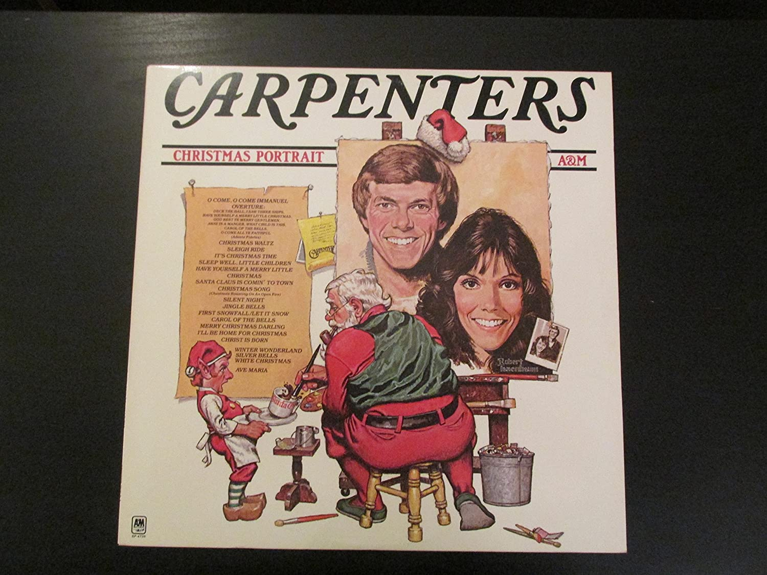 carpenters carpenters christmas portrait amazoncom music