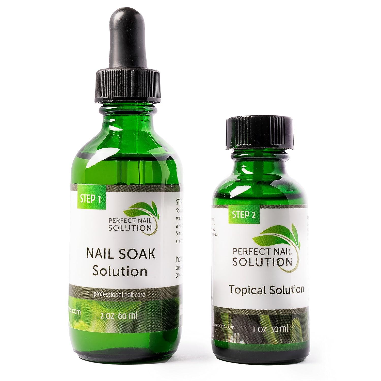 Perfect Nail Fungus 2-step Treatments, Foot Soak and Topical Brush