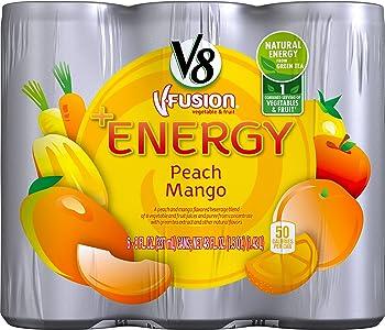 24-Pack V8 +Energy 8-oz. Cans Peach Mango