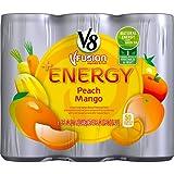 V8 +Energy, Peach Mango, 8 Ounce (Pack of 24)