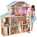 Kidkraft Majestic Mansion Doll House with Furniture Play Set - 3 Years & Above