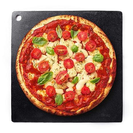 Amazon.com: Piedra para hornear de pizza de acero, 5.9 in ...