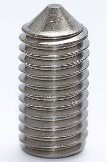 Bolt Base DIN 914-10 St/ück A2 Edelstahl Madenschraube mit Innensechskant 2.5 mm // M2,5 x 5 mm