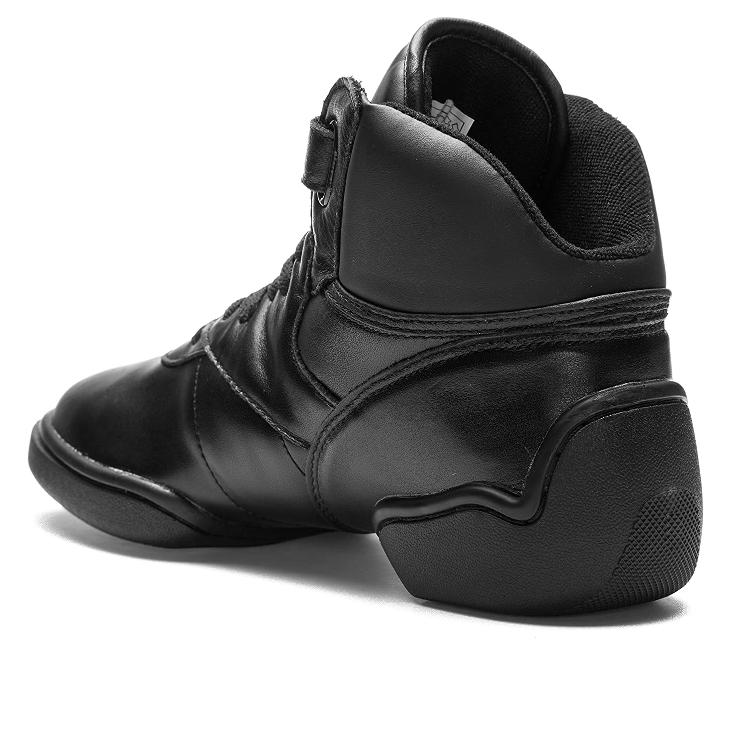 1500 Rumpf Jazz Street Hip Hop Fitness Sports Dance High Top Sneaker Basket  de danse noir: Amazon.fr: Chaussures et Sacs