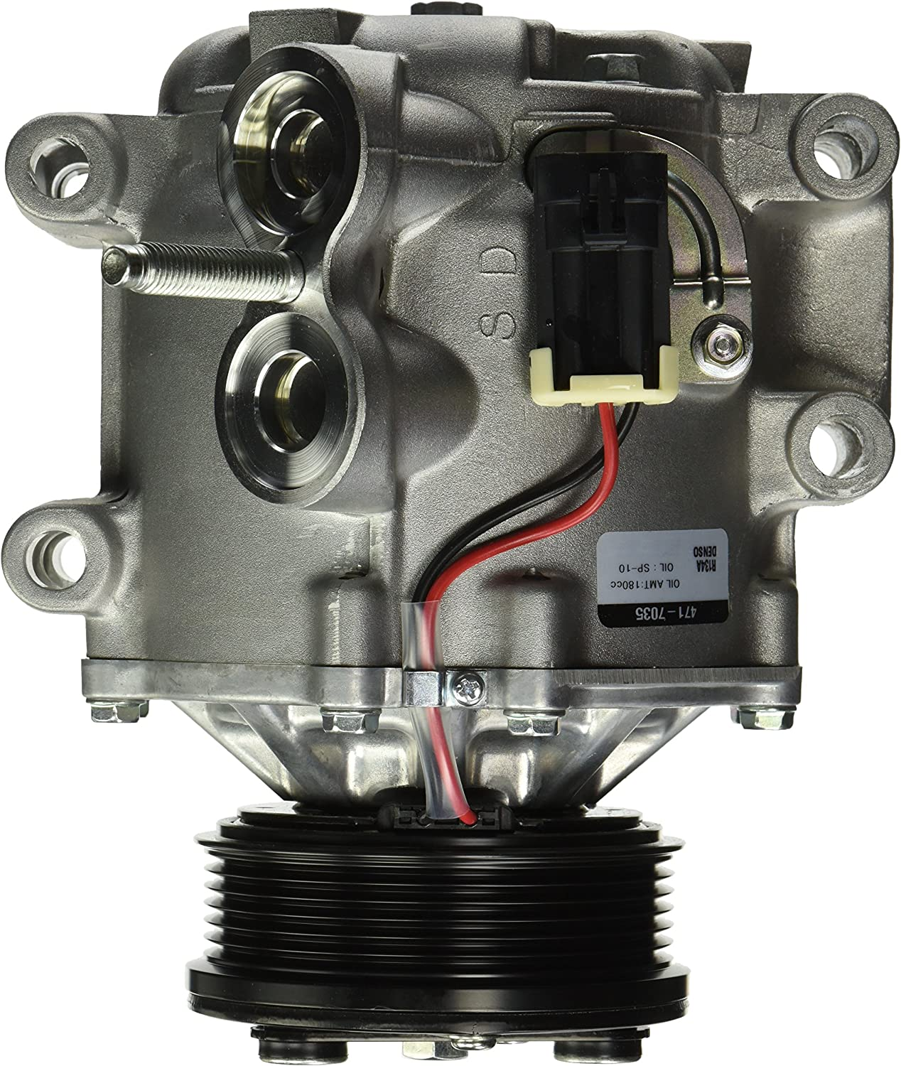 Denso 471-7035 New Compressor with Clutch