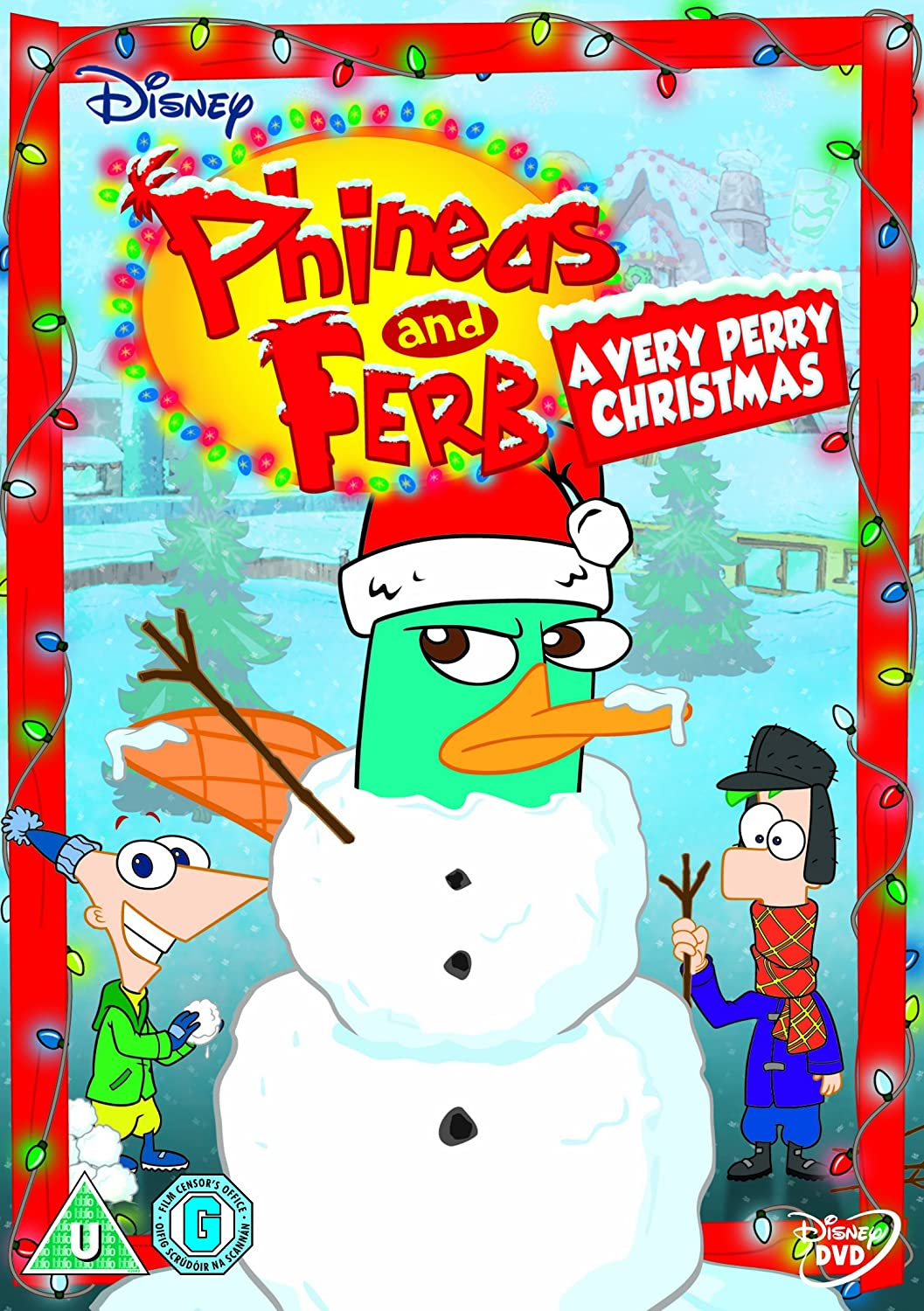 Phineas & Ferb: Across the 2nd Dimension [DVD]: Amazon.co.uk: Dan ...
