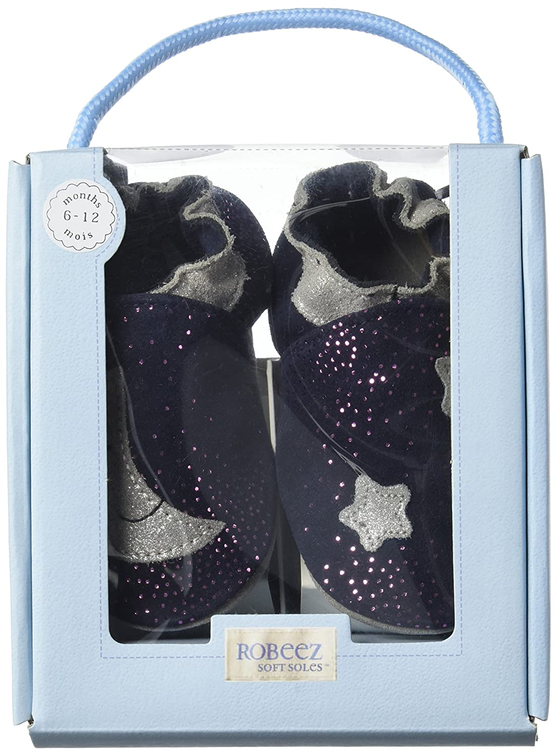 Robeez Baby Girls Moonlight Birth Shoes