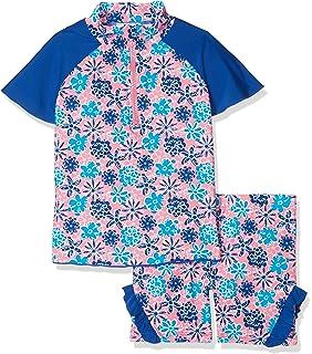 T/ürkis 15 86 Playshoes Baby-M/ädchen UV-Schutz Bade-Set Flamingo Badebekleidungsset, Herstellergr/ö/ße: 86//92