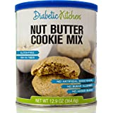Diabetic Kitchen Nut Butter Cookie Mix Makes The Moistest, Chewiest, No-Guilt Cookies Ever ● Sugar-Free, Gluten-Free, High-Fiber, Low-Carb, No Artificial Sweeteners (Makes 60 Cookies), 13.3 oz