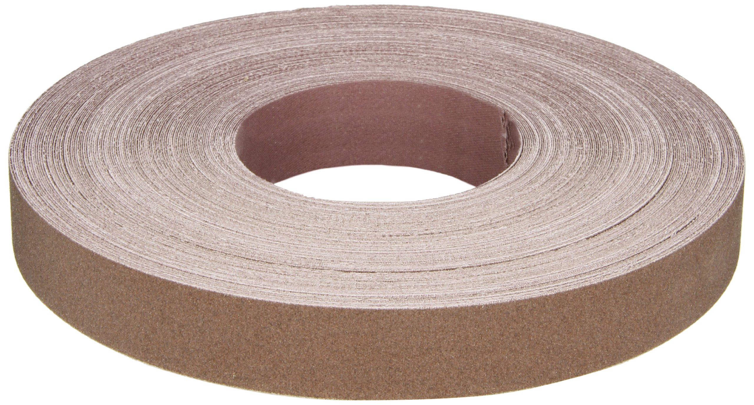Norton K225 Metalite Abrasive Roll, Cloth Backing, Aluminum Oxide, 1'' Width x 50yd Length, Grit P150 (Pack of 5) by Norton Abrasives - St. Gobain (Image #1)