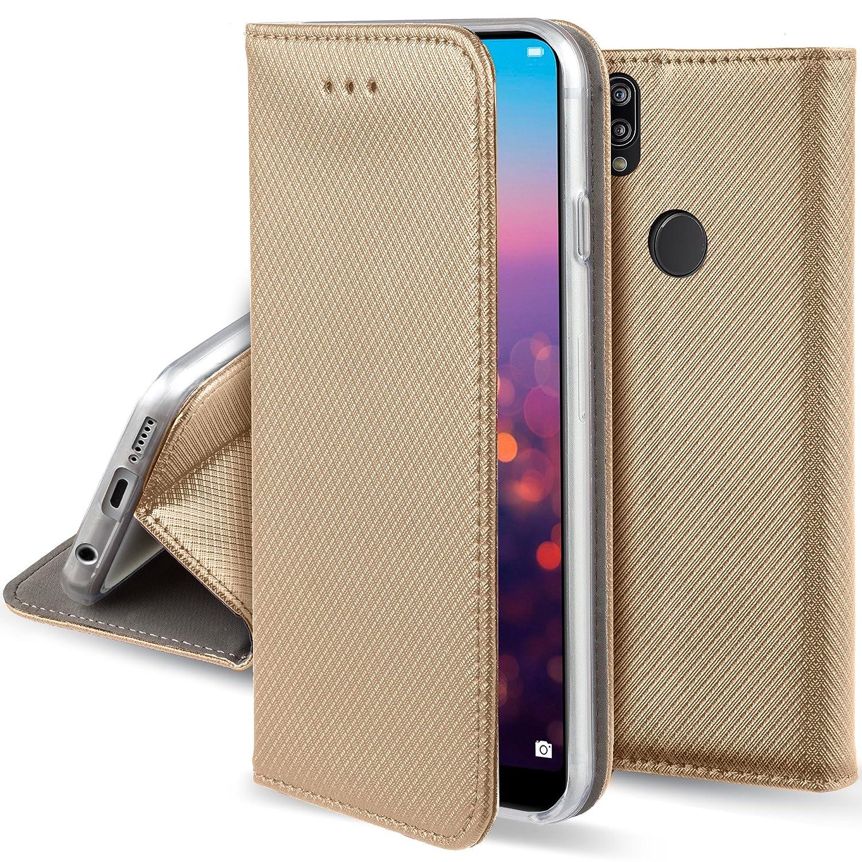 非売品 Huawei P20 Lite用Moozyケースフリップカバー Huawei、ゴールド P20 - B07C3VPT46 折りたたみ式スタンド付きスマート磁気フリップケース B07C3VPT46, カホクマチ:4d14cce6 --- movellplanejado.com.br