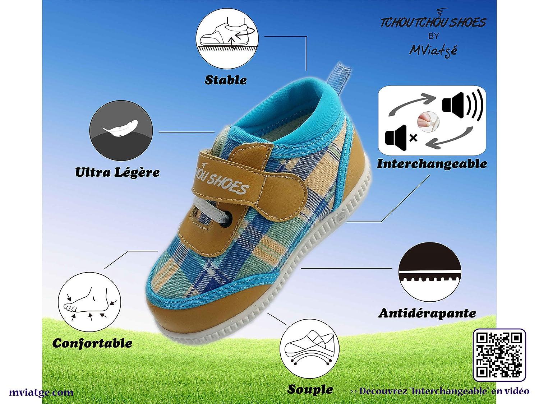 4430d85bf8690 TCHOU TCHOU SHOES - High Shoes Fashion   Street - Chaussures Premiers Pas  bébé garçon N°1 - Marque Française - Edition Limitée -  Amazon.fr   Chaussures et ...