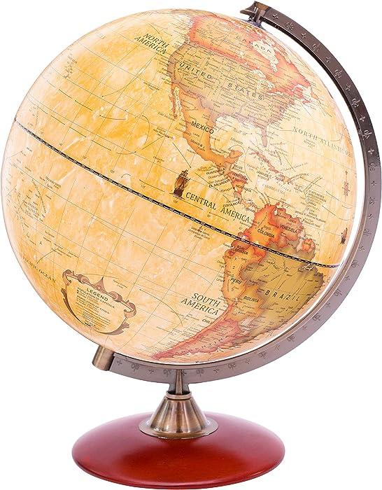 Top 10 Desktop Globe With Gold Base