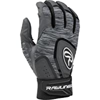 Rawlings 5150 Baseball Batting Gloves, Adult Medium, Black