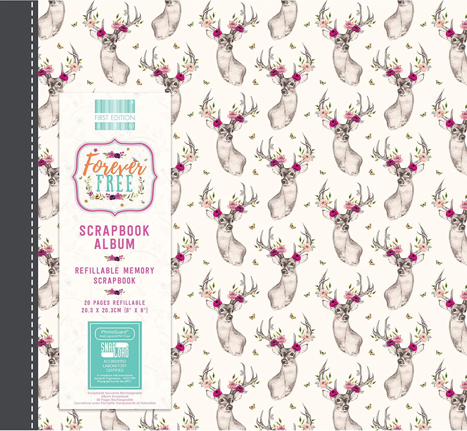 First Edition Forever Free Premium Paper Pad 12x12 48 Sheets FSC