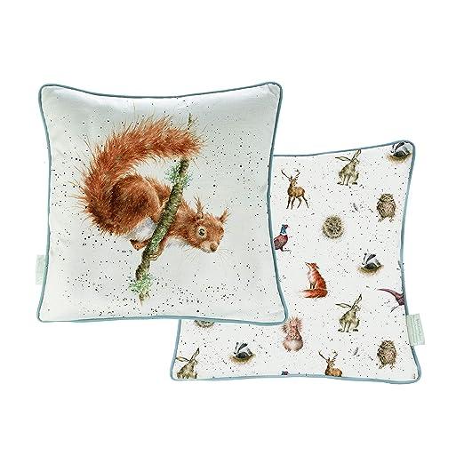 Wrendale Designs - Cojín (40 cm), diseño de Ardilla: Amazon ...