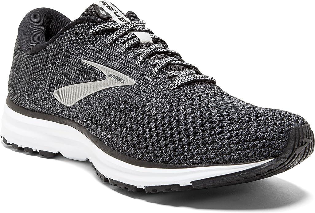 Brooks Revel 2 Sneakers Damen Schwarz/Grau