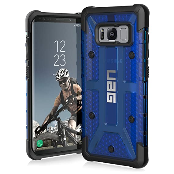 new products 4c807 ea52d UAG Samsung Galaxy S8 [5.8-inch Screen] Plasma Feather-Light Rugged  [Cobalt] Military Drop Tested Phone Case