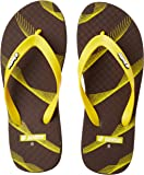 Lotto Men's Brown/Yellow Hawaii House Slippers