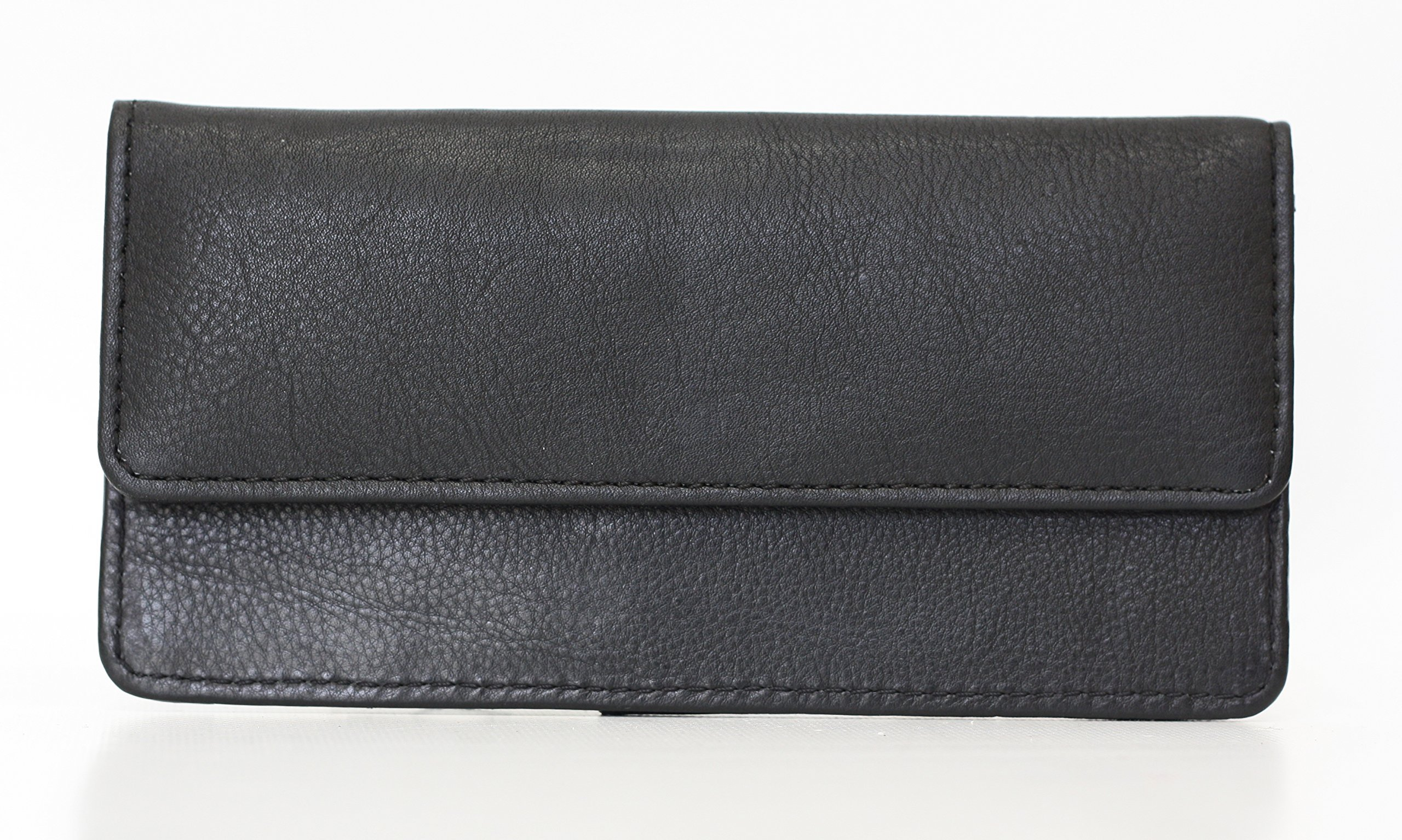 Ashlin Genuine Leather Clutch Wallet, Black L9015-18-01 by Ashlin®