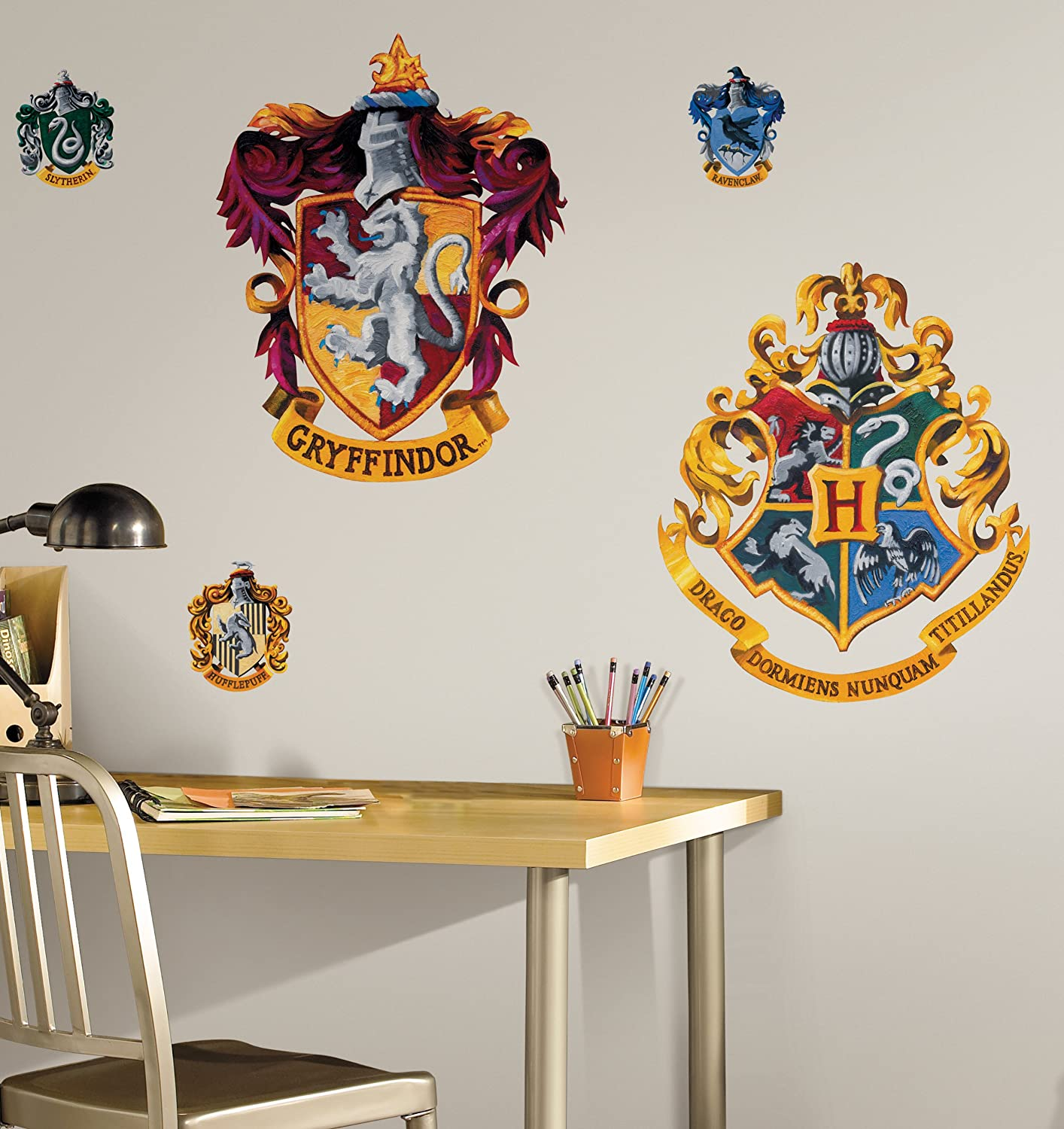 Roommates Harry Potter House Crest Peel And Stick Giant Wall Decal