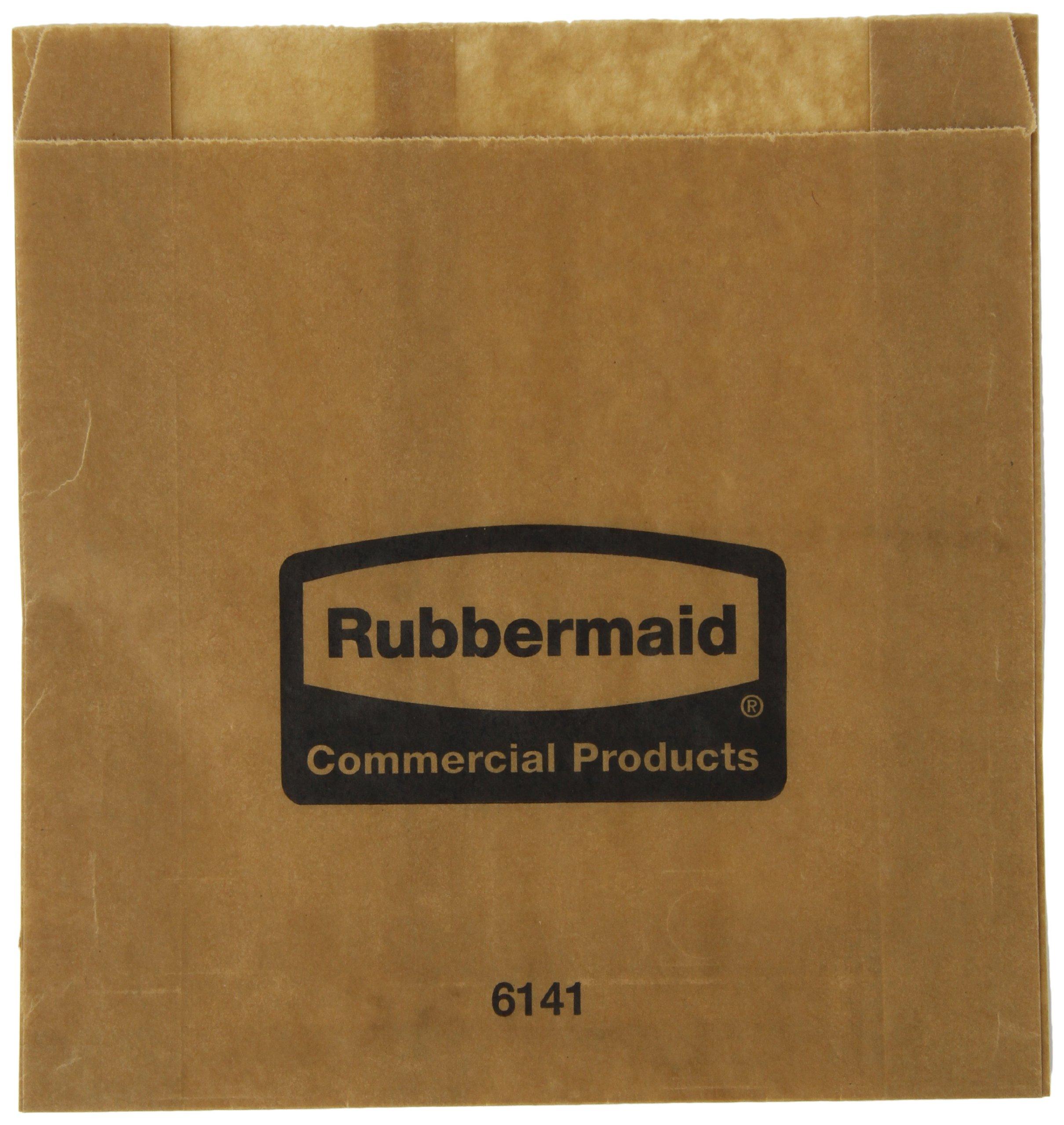 Rubbermaid Commercial Waxed Sanitary Napkin Bags, Pack of 250 (FG6141000000) by Rubbermaid Commercial Products