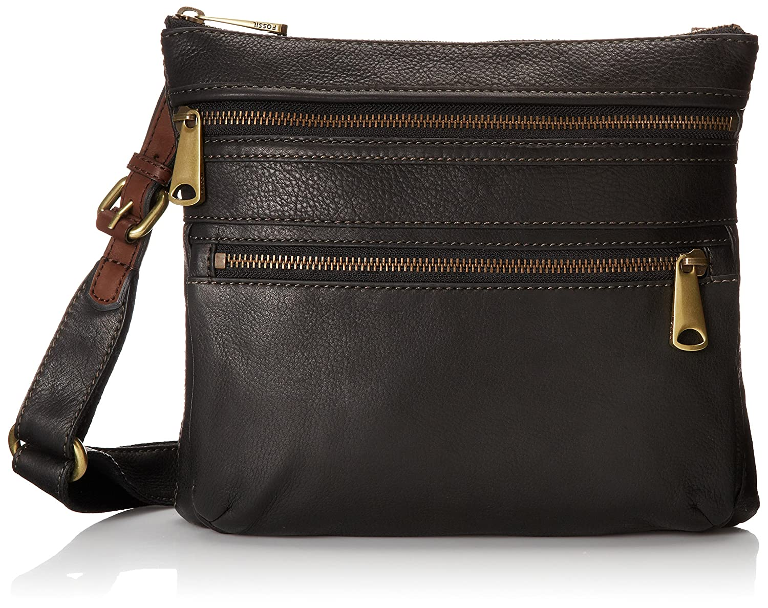 Fossil Explorer Cross Body Bag, Black, One Size: Amazon.ca: Clothing &  Accessories