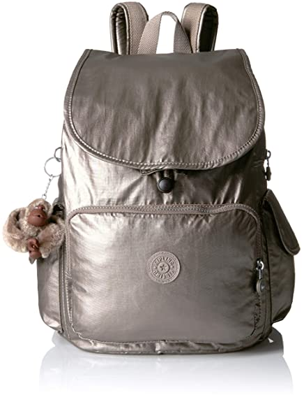 Kipling City Pack Medium Backpack, Metallic Pewter  Amazon.co.uk ... 56922be7f4