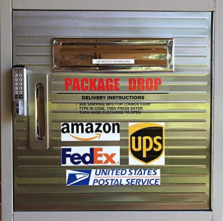 Amazon Com Lokbox Home Delivery Package Drop Box Deluxe