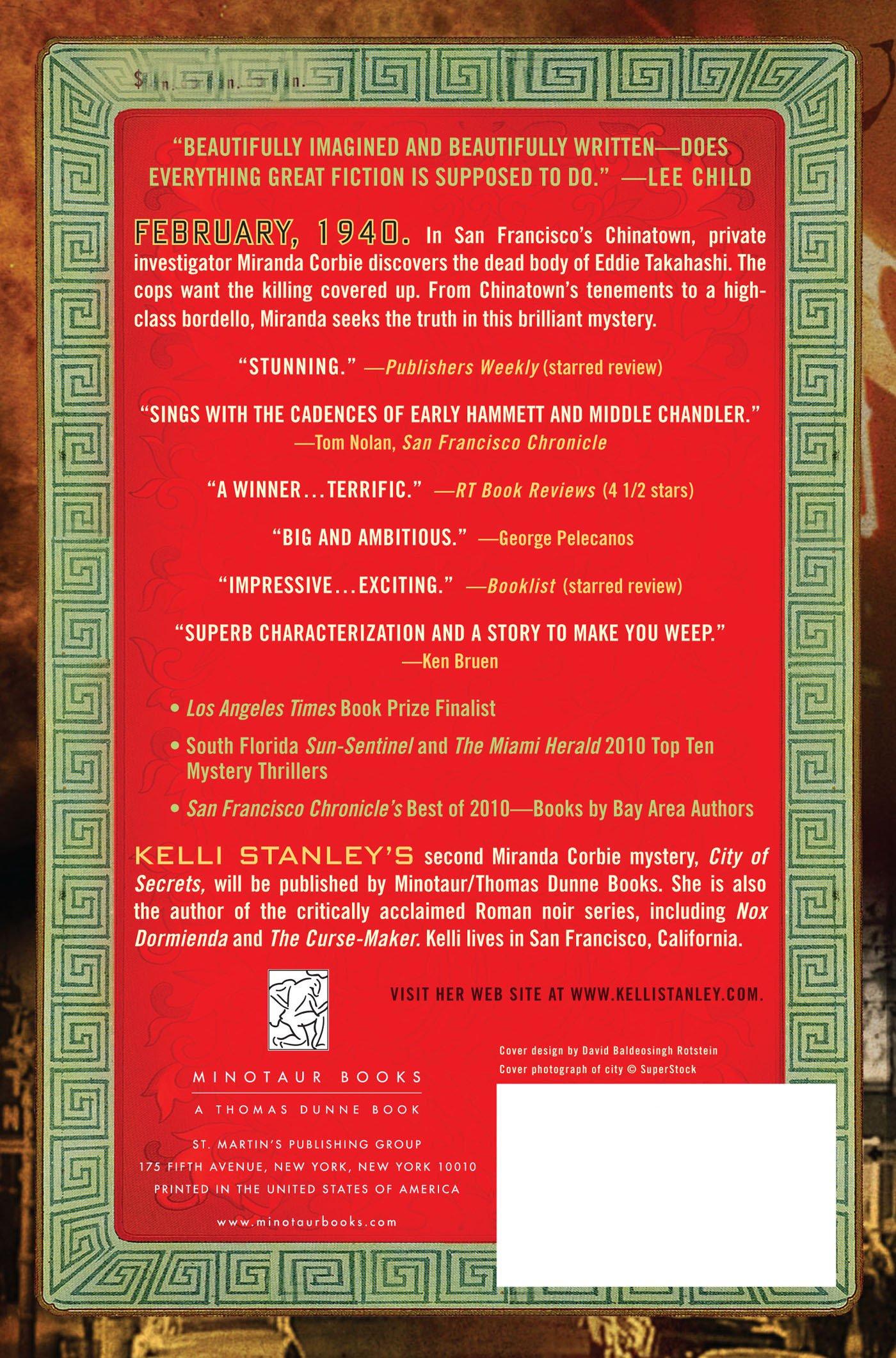 City Of Dragons (a Miranda Corbie Mystery): Kelli Stanley: 9780312668792:  Amazon: Books