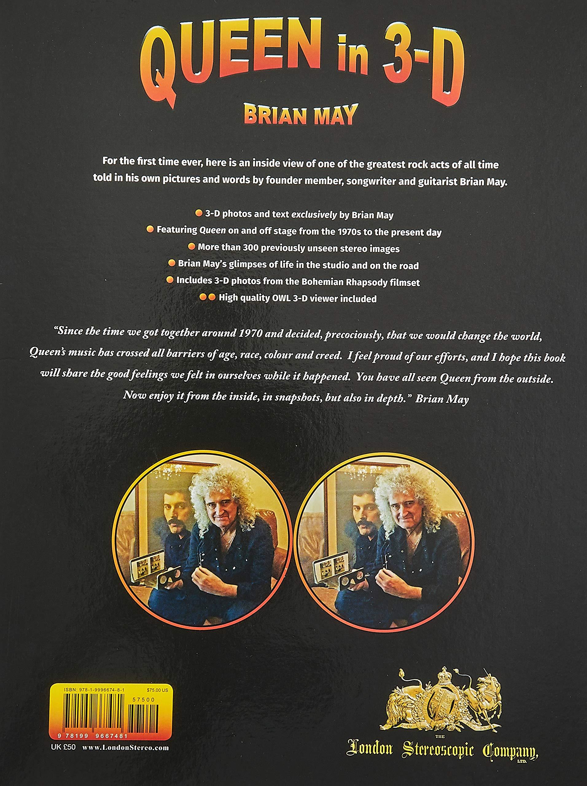 May, B: Queen in 3-D (3d Stereoscopic Book): Amazon.es: May, Brian: Libros en idiomas extranjeros