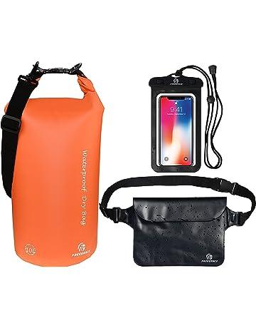 2954a021013f Freegrace Waterproof Dry Bags Set of 3 - Dry Bag 2 Zip Lock Seals    Detachable