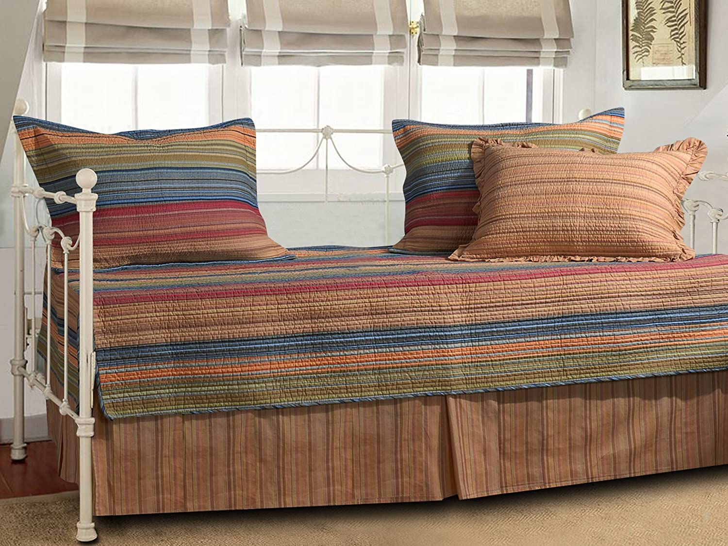 Modern daybed bedding - Greenland Home Katy 5 Piece Daybed Set