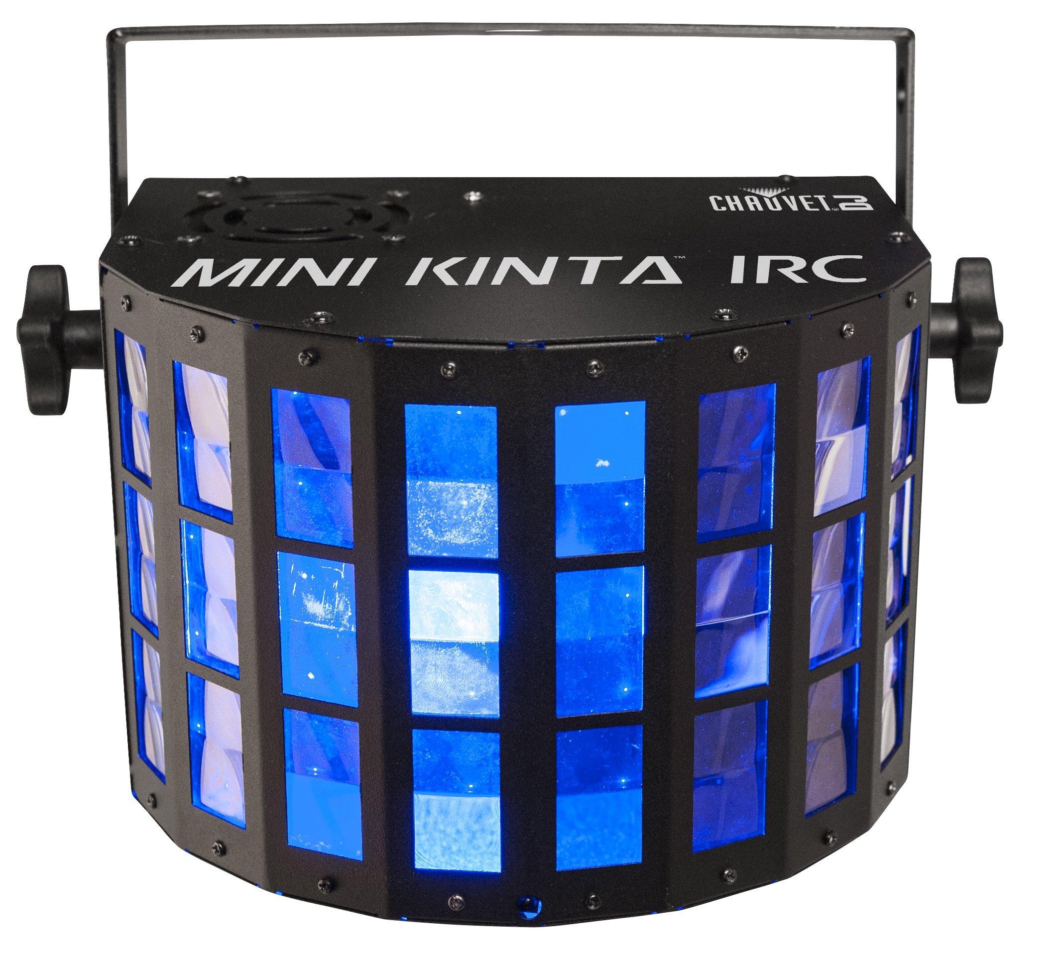 CHAUVET DJ Mini Kinta IRC Compact LED Derby DJ Effect Light w/Wireless Capability by CHAUVET DJ