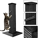 Nova Microdermabrasion 32Inches Ultimate Cat Scratching Post Sisal Scratching Post for Cats Kitty Kittens