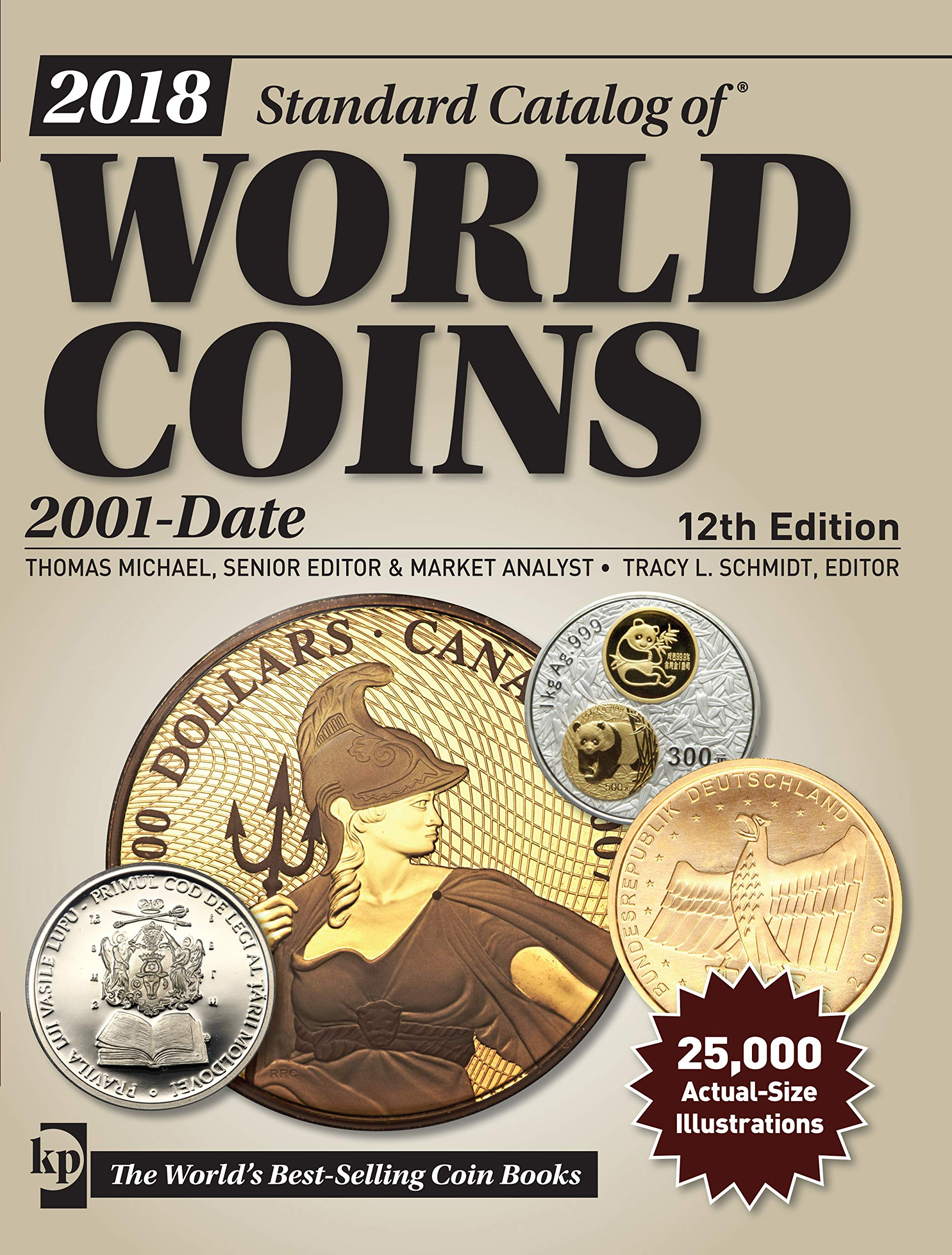 2018 Standard Catalog Of World Coins 2001 Date 12th Edition