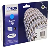 Epson C13T79124010 - Cartucho de tinta 6.5 ml, color azul (cyan 79)