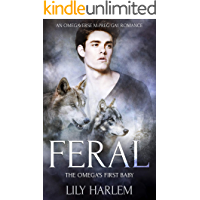 Feral: An Omegaverse M-Preg Gay Erotic Romance book cover