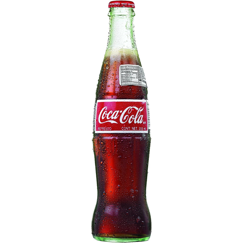 Amazoncom Mexican Coke Glass Bottles 12 Fl Oz 24 Pack Grocery