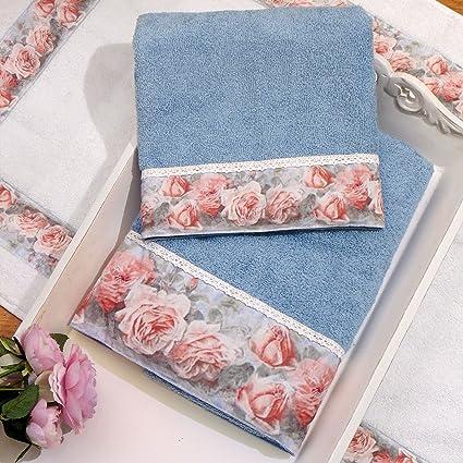 Juego de Toallas , Toalla de Mano y Toalla Invitado , Textil baño , Toallas Baño