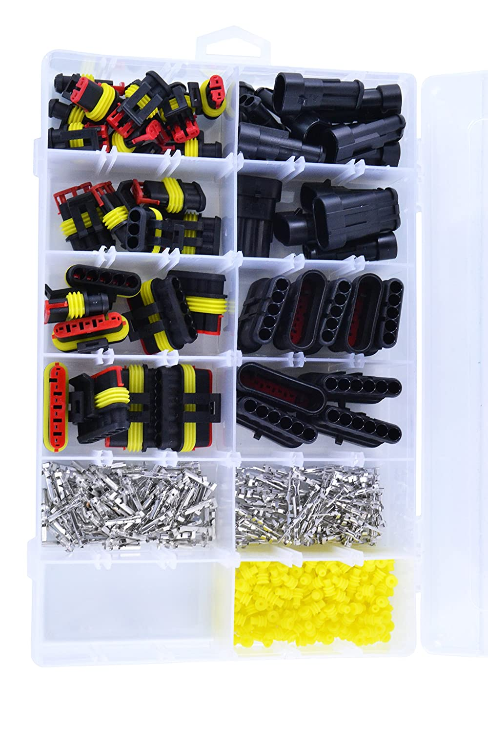 AMP Universal Connector Kit 384 pcs For ATV Inboard Motocycle PWC Outboard Scooter Snowmobile Tractor UTV RMSTATOR