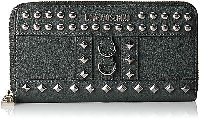 TALLA 2x10x19 centimeters (B x H x T). Love Moschino - Portafogli Pebble Grain Pu, Carteras Mujer