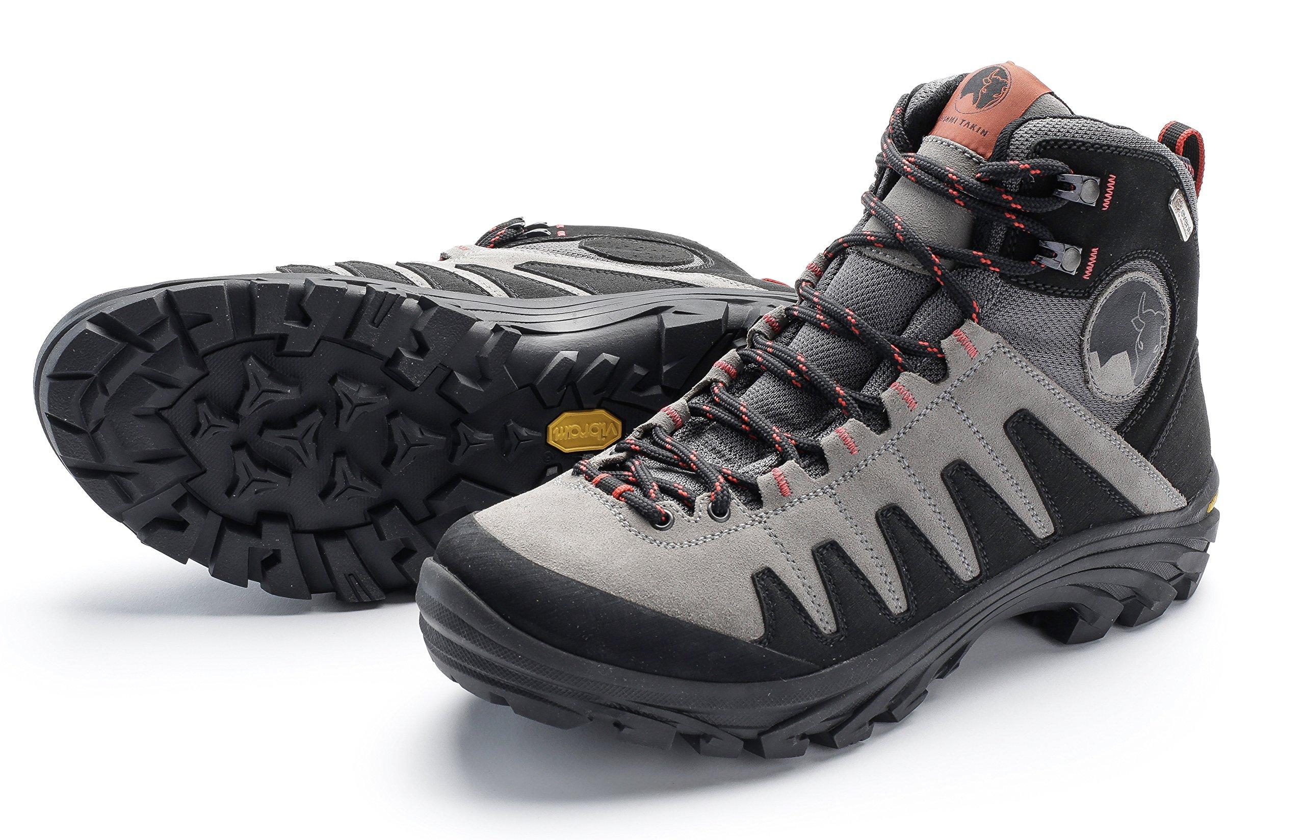 Mishmi Takin Kameng Mid Event Waterproof Hiking Boot (EU 38/US Women 7.5, Grey)