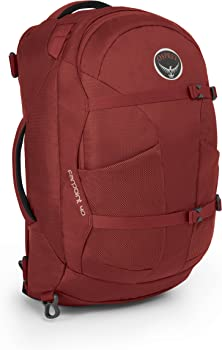 Osprey Farpoint 40 Travel Backpack (S/M) (Red or Grey)