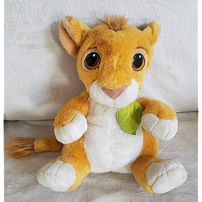 """12"""" 1993 Mattel Lion King Talking Simba Plush: Toys & Games"""